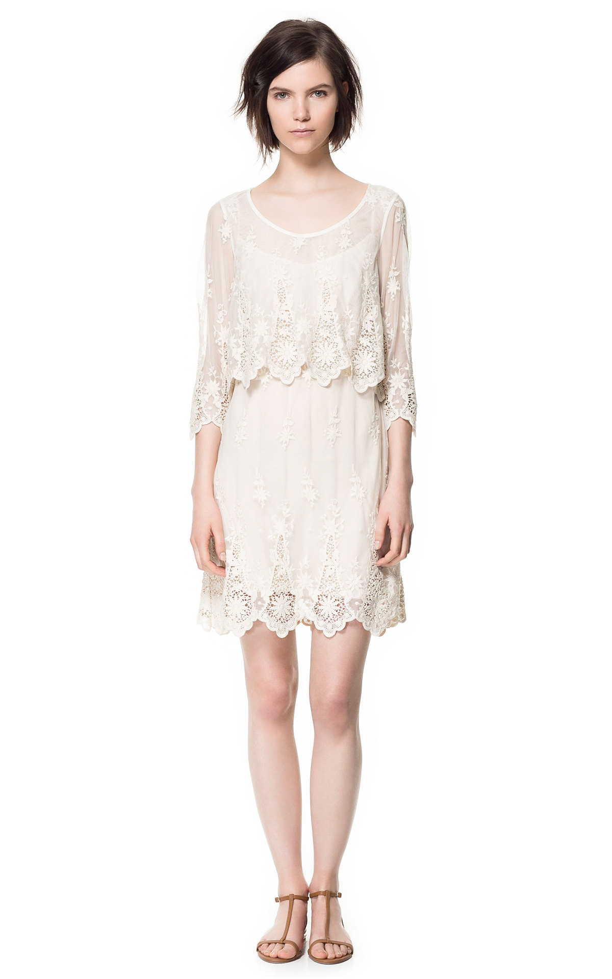 [Lace Dress by Zara]