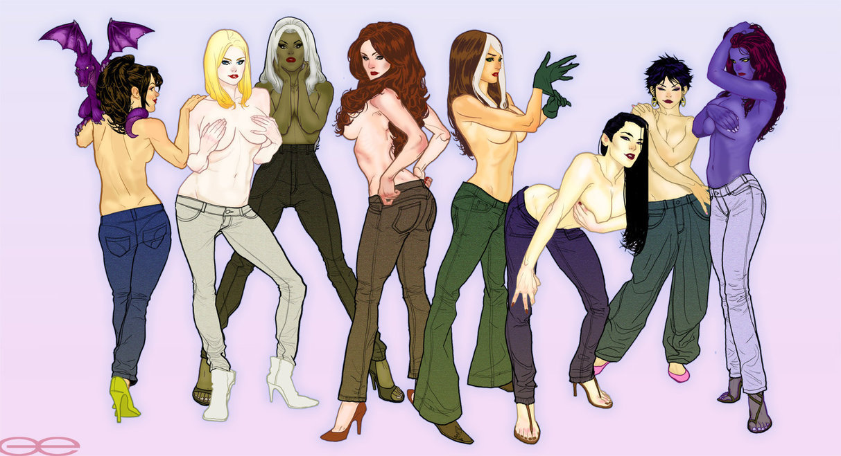 X-Babes in Jeans by godfreyescota.