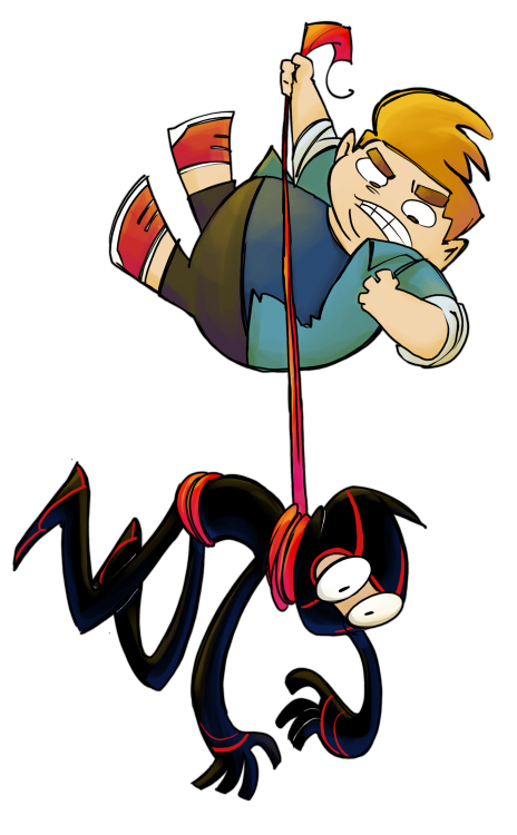love-courage-ham-and-a-spoon:  NNS!! color and inked by arockettumblr UvU