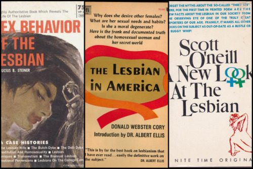 Masters of Homosex: 9 Vintage Books That Lied About LesbiansThe release of The Kinsey Report and the groundbreaking sex research of Masters and Johnsonin the…View Post