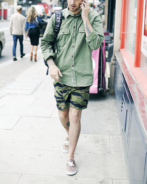 Street Fashion : Norse, Vans, Unis, Supreme x North Face.