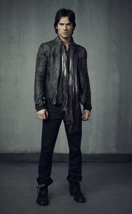 "adropintheoceanoflife:  NEW Season 4 promo shot ""Damon"""