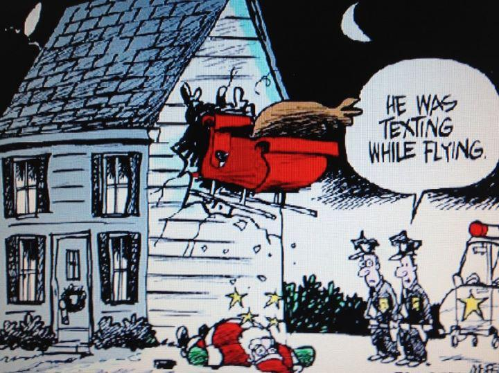 Reblog if you want Santa Claus to finish his annual trip in safety!
