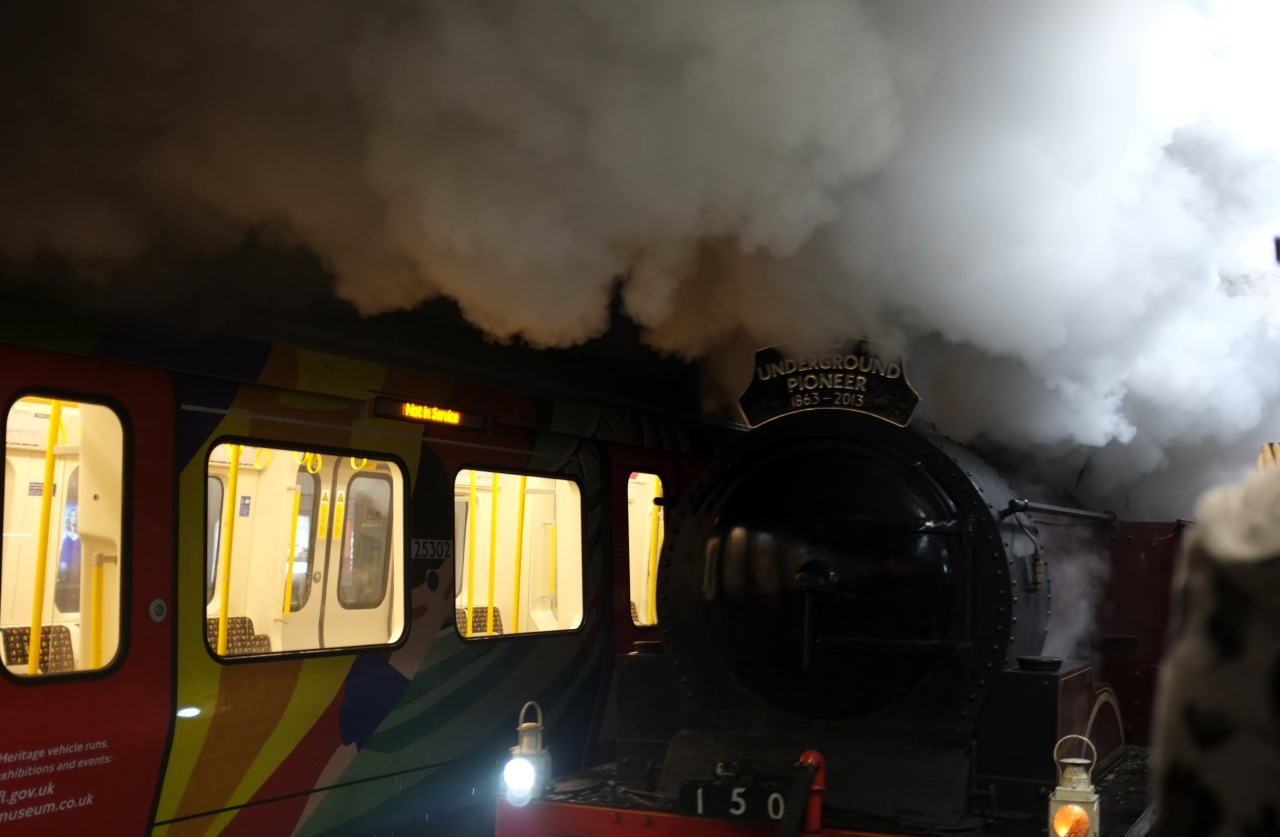 Steam on the Underground