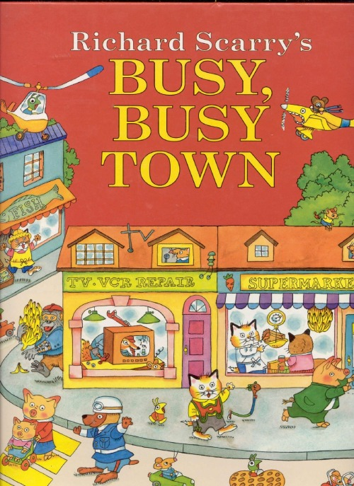 nypl:  There's just something about a Richard Scarry book that instantly takes you back to your childhood. Today Mr. Scarry would have been 94 years old. But, as long as his books are around, he's timeless.  Who was your favorite Richard Scarry character?  Happy birthday, Richard Scarry!
