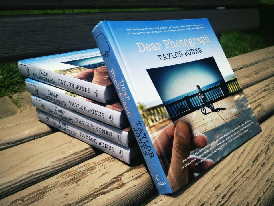 Like the Dear Photograph website? Then you'll love the book!Click here to purchase on Amazon.