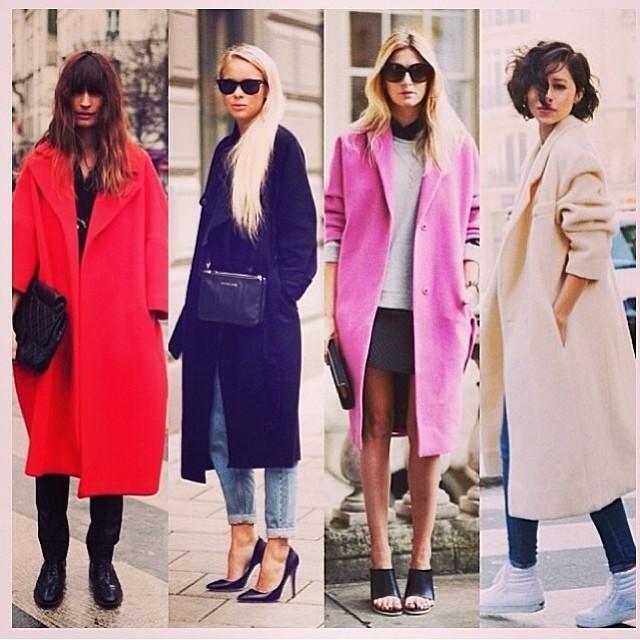 Inspiration for today's shoot. #oversizecoat #howtostyle #stylereport #fashion