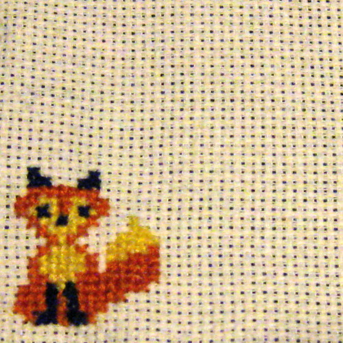 I made a little fox :3
