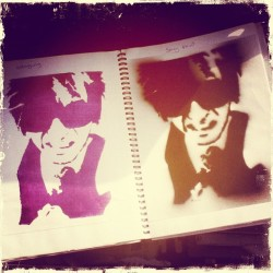 #throughback the day I stencilled @7ofbc13 in my photography lesson #stencil #bc13 #aerosol