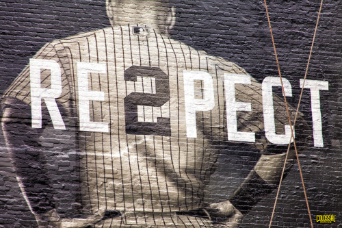 colossalmedia:  colossalmedia:  RE3PECT  Once more, with feeling.