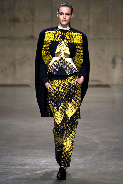 Kremi for Peter Pilotto F/W 2013