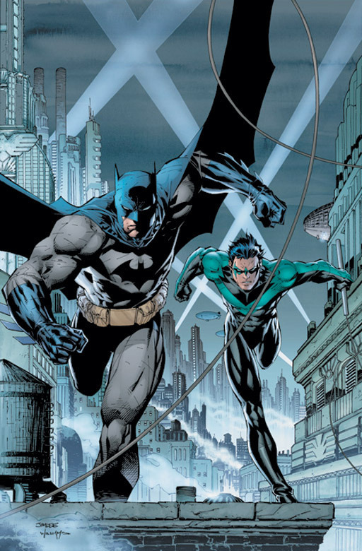 Batman and Nightwing by Jim Lee