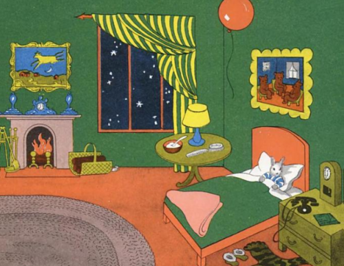 go-cartmozart:  goodnight moon*  book of my childhood