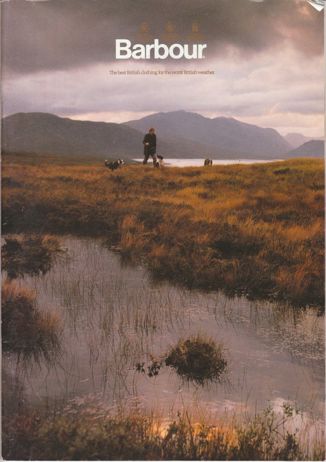 Barbour 1987 catalog cover.  More to come soon.