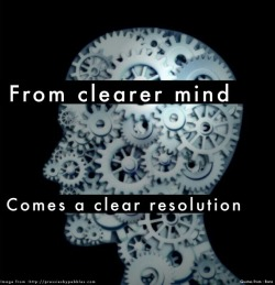 Clear mind.. – View on Path.