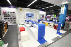 thisistheverge:  Google will reportedly open its own retail stores starting this year Don't be evil (in retail)  Well it was only a matter of time…
