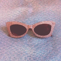 New shades for my sister to hate on ♡ #asos #glitter