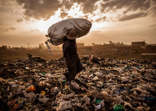 """Photographer Micah Albert captures the danger, filth and tragedy of Nairobi's massive dumpsite"" This is such a unbelieveable photo series."