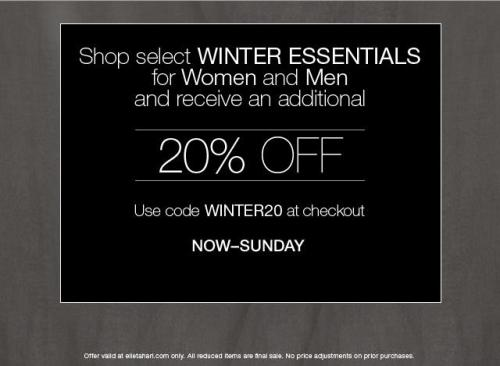 Final day of our winter essentials offer!