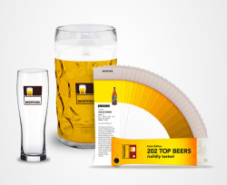 I believeBeertone, a beer color-matching guide, may initiate a new color trend in my design work. Also to be initiated: additional beer drinking. Found atDesign Milk.