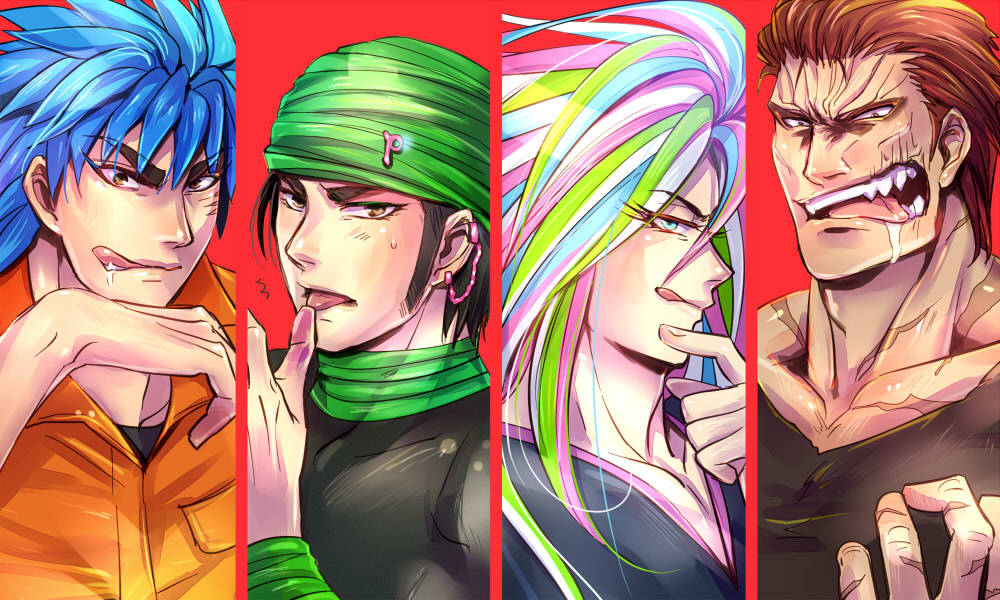 godoflions:  Toriko four heavenly kings