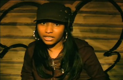 OMG  Nicky Minaj Used to Look Like This !More http://unusual-findings.tumblr.com/ Always in the news , Nicky was quite cute before all of the makeup and drama dressing, but I guess  fame and money makes yall wanna do the change.Changing and altering faces, body parts, for nothing really, shame because she was pretty before , but now, NOT much so.