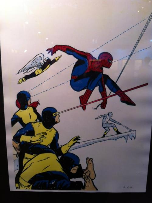 Spiderman and  X-Men