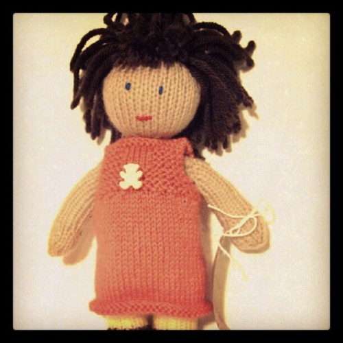 "I think ""danielle"" is my fave #handmade doll made by those affected by sexual violence in aid of support services in #Birmingham. The dolls are on sale for 3 more days at www.shopforchange.info/pop-up You can also donate at www.rsvporg.co.uk/support.html RSVP have seen an increased demand for counselling this year and badly need more funds to help support these survivors…. many thanks to those moved to donate! X"