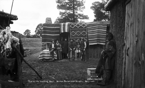 Tze-he-lih Trading Post Navajo Reservation, Arizona - ca 1885 Photo By: Ben Wittick Negative #016025
