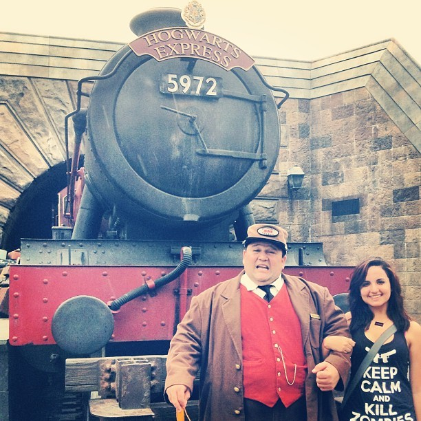 Nos fuimos.  (at The Wizarding World Of Harry Potter)