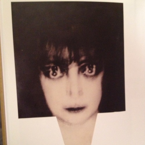 Man Ray, Portrait of Marchesa Casati, 1922. in The Naked Eye, surrealist photography in the first half of the 20th century by Shpilman Institute for Photography