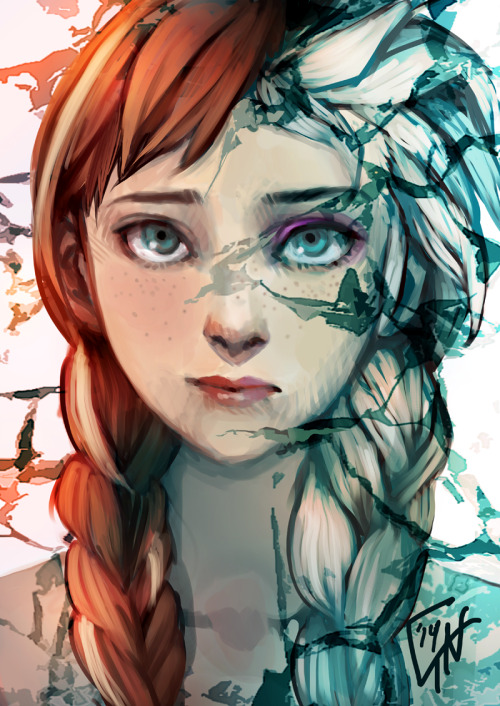 Drawings Tumblr Disney Frozen Images & Pictures - Becuo