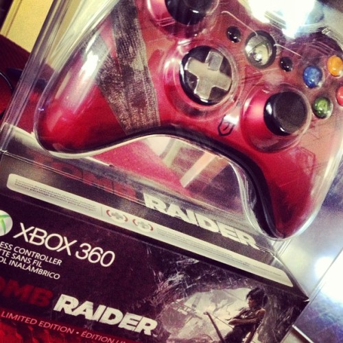 Who wants this bad boy? Tweet me a photo of your most #TombRaider moment or an adventurous drawing before Tuesday the 5th and you'll be entered to win!