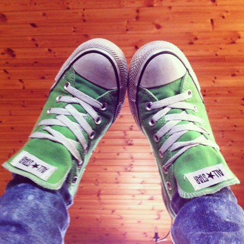 #bored #converse #allstar #green #shoes