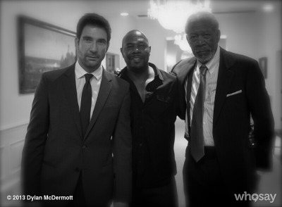 Morgan, Antoine & Me…View more Dylan McDermott on WhoSay