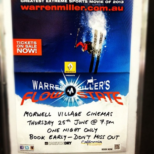 Premiering in #gippsland @warrenmiller #morwellvillagecinemas Thursday 25th June at 7:00 pm (P.S. I think you guys forgot to send those free tickets LOL  @kurbdogs)