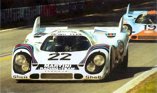 fyeah-cars:  Porsche 917 at 24 Hours of Le Mans 1971 | FYeah Cars