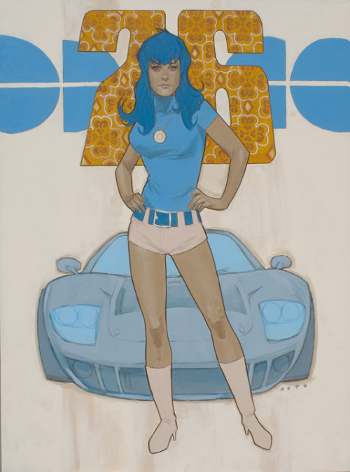 philnoto:  Blue 76  Phil Noto
