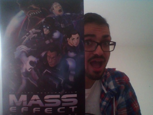 Thanks again, Megan, for the Mass Effect: Paragon Lost poster!!  :D Ecstatic.