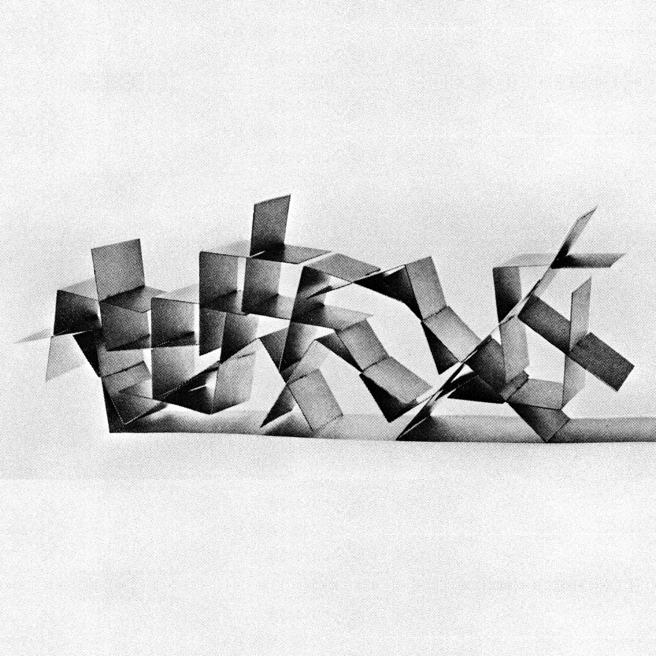 betonbabe:  BRUNO MUNARI ARTICULATED SCULPTURE, ca. 1950s / 1960s