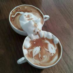 its-teatime:  I know it's coffee, but look at it!!!!