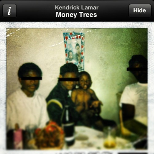 #moneytrees is the perfect kind of shade…word to #kendrick