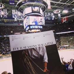 Tonight we're cheering for our home team: Go Leafs Go! #FSFotog  (at Air Canada Centre)