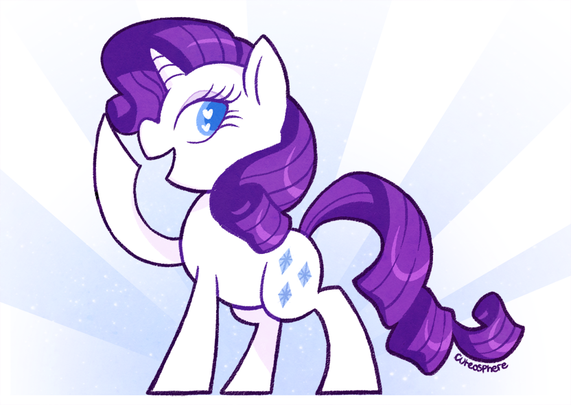 cuteosphere:  Simply the finest example of a pony