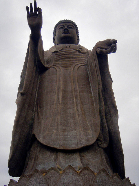 Ushiku Daibutsu by Germán Vogel on Flickr.