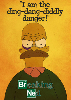 breakingbadamc:  Breaking Bad gets The Simpsons treatment tonight! http://youtu.be/YKePrVPGK3g