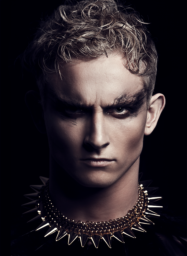 geraintdonovanbowen:  Hector Maclean wearing the Quetzalcoatl Necklace by Anathema Designs, Photographed by Terrence Seah of Edfool Photography. Gorgeous.  I love finding images of my jewellery!