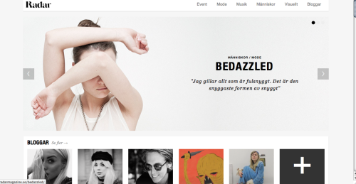 Interview with Bedazzled for Radar Magazine! ENJOY! http://radarmagazine.se/bedazzled/