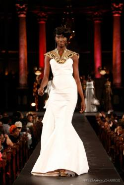 cutfromadiffcloth:  Highlights from Black Fashion Week Montreal 2013 Designer: Elie Kuame Photo Credit:MATHIEU CHARROIS PHOTOGRAPHE cutfromadiffcloth.tumblr.com