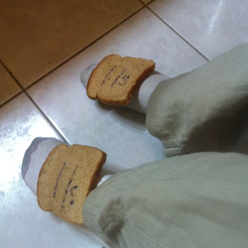 I got my #bred 11s son. I'm out here toasty my nigga. Straight swaggin
